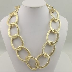 Gold Chain Necklace by T&J Designs